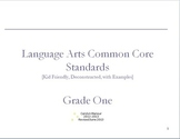 The Complete Common Core State Standards for Language Arts!