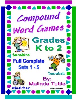 The Complete Compound Word Card Game - Sets 1-5