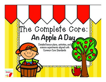 The Complete Core: An Apple A Day Close Reading Activities
