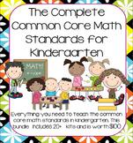 Growing Mega-Bundle of Math Activities for Kindergarten (Entire Year)