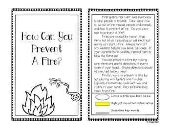 The Complete Core: Fire Safety Lessons and Activities Aligned to Common Core