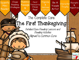 The Complete Core: The First Thanksgiving Close Reading Ac