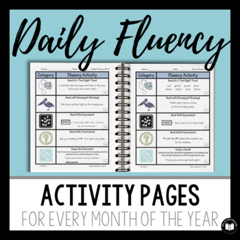 """The Complete """"Daily Fluency"""" Primary-Level BUNDLE"""
