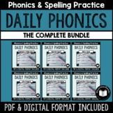 """The Complete """"Daily Phonics"""" Word Work BUNDLE"""