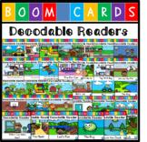Digital Decodable Reader Bundle (Boom Cards) - CVC Words (