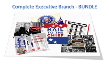 The Complete EXECUTIVE branch (high level) Lesson Bundle