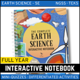 Earth Science Interactive Notebook Complete Bundle - Distance Learning