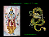 The Complete Empires of India & China (600BCE-550AD) PowerPoint Unit