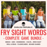 Fry Sight Word Games: Bingo, Dominoes, UNO, Checkers, I Have...Who Has? and More