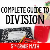 Division Activities and Printables | 5th Grade Division