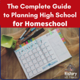 The Complete Step-by-Step Guide to Planning High School fo