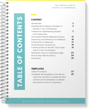 The Complete Guide to Student Led Conferences