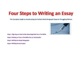 Writing an Essay: The Complete Guide for New or Struggling