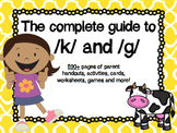 The Complete Guide to /k/ and /g/ ~ 200+ Pages!