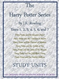 The Complete Harry Potter Series by J.K. Rowling: Study guides and Projects