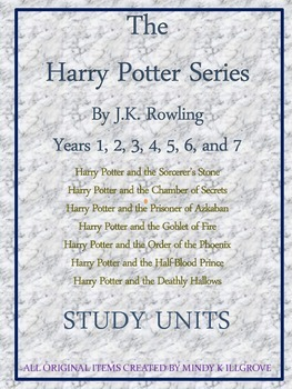 The Complete Harry Potter Series by J.K. Rowling: Study gu