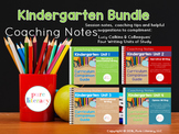The Complete Kindergarten Writing Curriculum Companion Guide Bundle