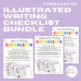 The Complete Kindergarten Writing Illustrated Checklists Bundle