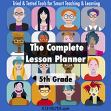 5th Grade Lesson Plan Template: All Subjects w/ Common Cor