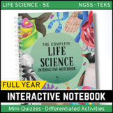 Life Science Interactive Notebook - The COMPLETE Bundle for an ENTIRE YEAR!