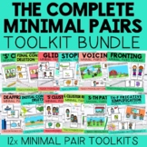 The Complete Minimal Pairs Toolkit Bundle for Speech Therapy