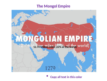 The Complete Mongol Empire Unit PowerPoint