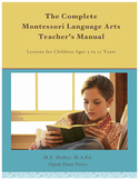 The Complete Montessori Language Arts Teacher's Manual–PDF
