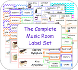 The Complete Music Room Label Set