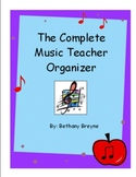 The Complete Music Teacher Organizer