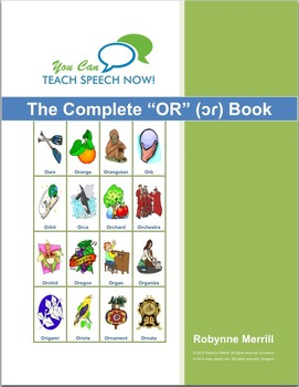 Complete OR Book: Articulation and Language Workbook