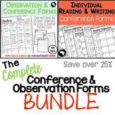 The Complete Observation and Conference Forms Bundle