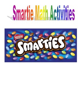 Smartie Math Activities
