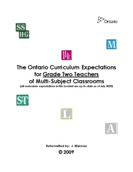 The Complete Ontario Curriculum for Grade Two Teachers