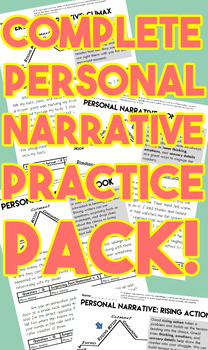 The Complete Personal Narrative Practice Pack