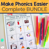 Phonics Worksheets and Phonics Games Bundle