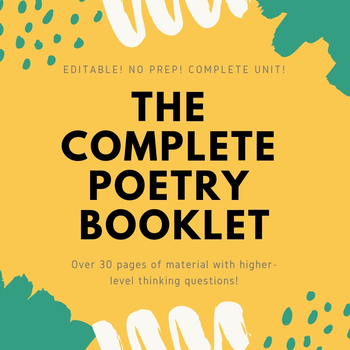 The Complete Poetry Booklet