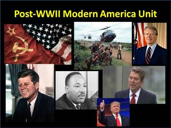 The Complete Post WWII-Current Powerpoint Mega Unit (1945-2015)