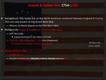 The Complete Powerpoint Unit on the American Colonies & the Revolutionary War