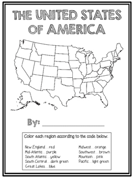 The Complete Regions of the United States Booklet