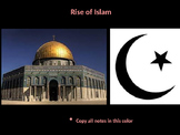 The Complete Rise of Islam PowerPoint Unit