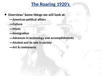 The Complete Roaring 20's Unit PowerPoint
