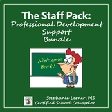 The Complete School Counseling Staff Pack