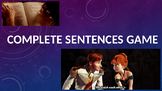The Complete Sentences Game