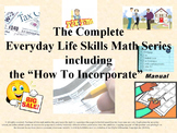Everyday Life Skills Math Series:The Complete Series