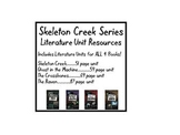 The Complete Skeleton Creek Series-Literature Units for All 4 Books