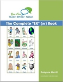 Complete Stressed ER Book: Vocalic R Articulation and Language Workbook