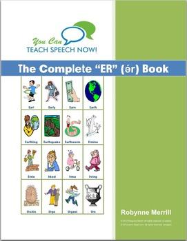 Complete Stressed ER Book: Vocalic R Articulation and Language Workbook