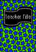 The Ultimate Teacher File (free updates!)