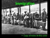 The Complete U.S. History Immigration Era PowerPoint Unit