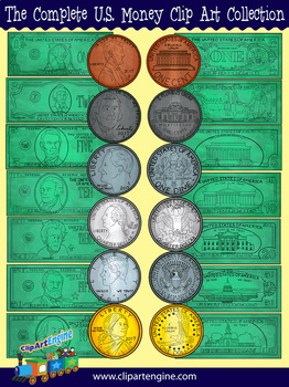 The Complete U.S. Money Clip Art Collection